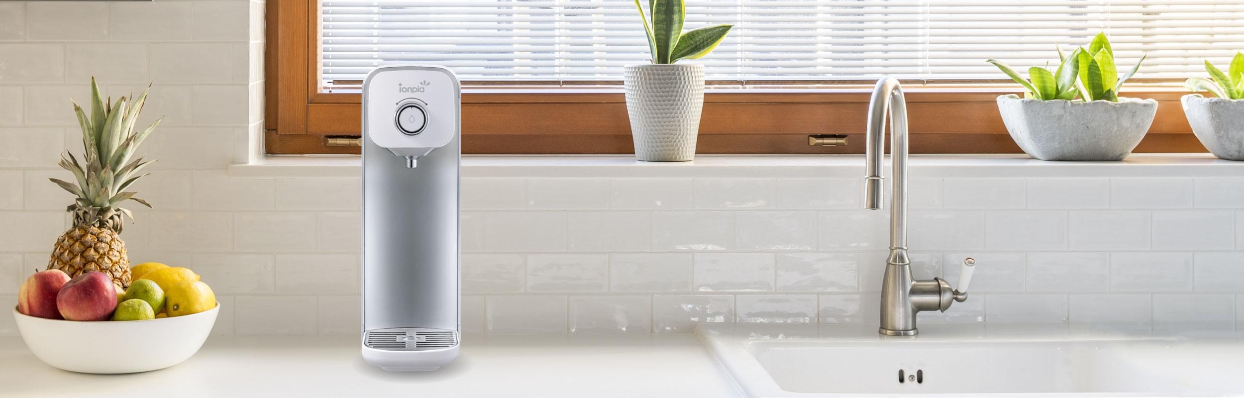 Ionpia kitchen counter top hydrogen-rich water generator